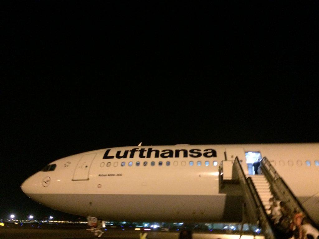 Lufthansa Airbus A330 MCT