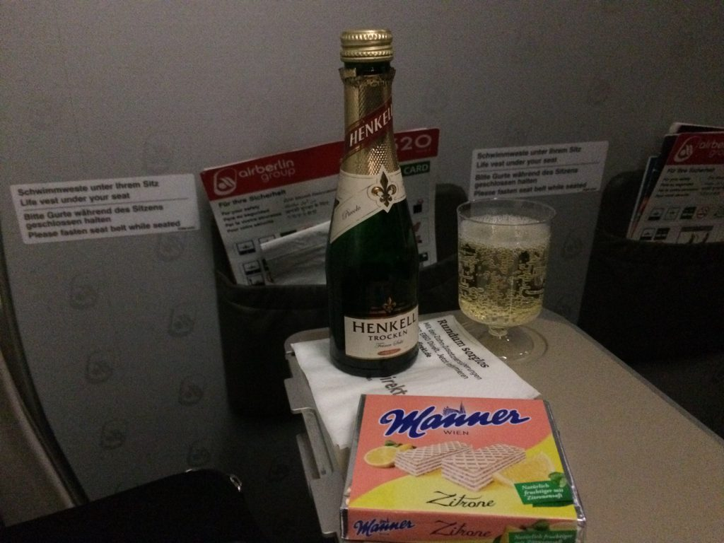 "Mein erster Air Berlin ""no water"" Flug - Frankfurtflyer.de"