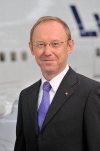 Karl-Ulrich Garnadt, Mitglied des Passagevorstands der Deutschen Lufthansa AG, Passagevorstand Hub-Management & Passagier-Service / Member of the Lufthansa German Airlines Board, Chief Commercial Officer