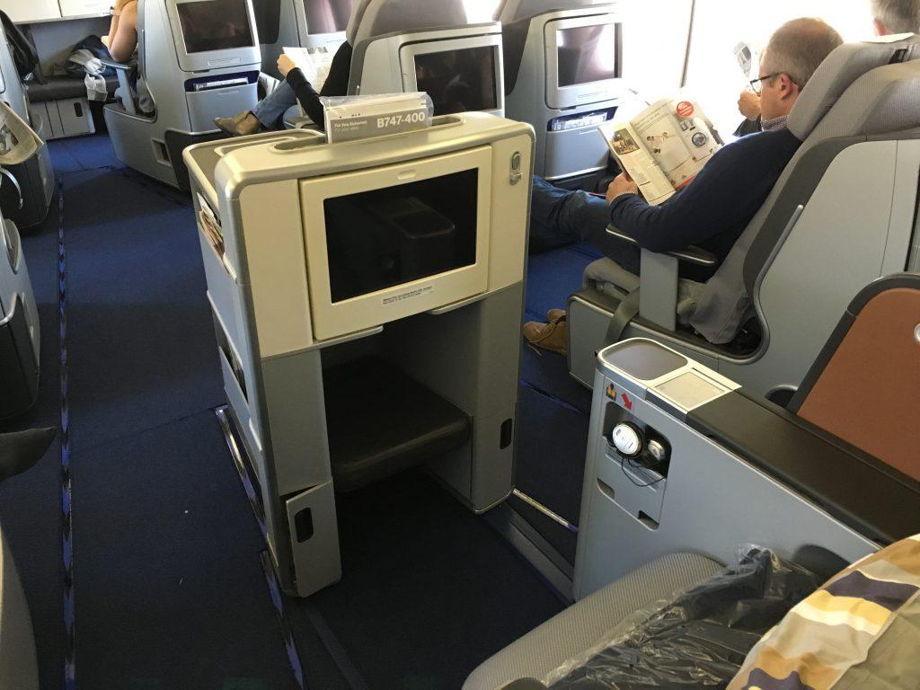 review lufthansa business class boeing 747 400 frankfurt nach seattle. Black Bedroom Furniture Sets. Home Design Ideas