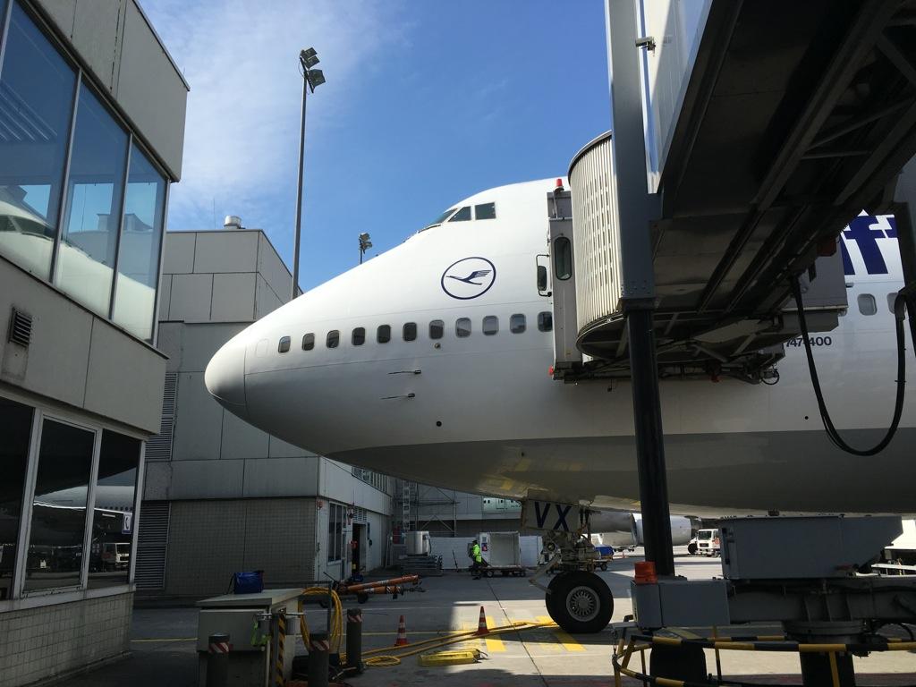 Flug Ankunft Frankfurt