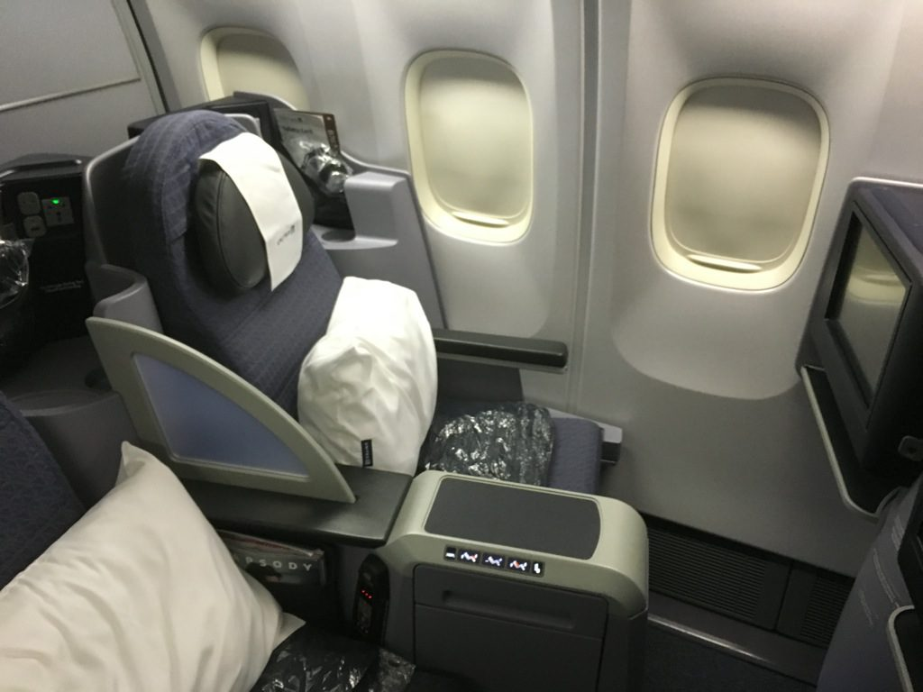 Review: United Airlines Business Cl Boeing 767-300er Houston ...