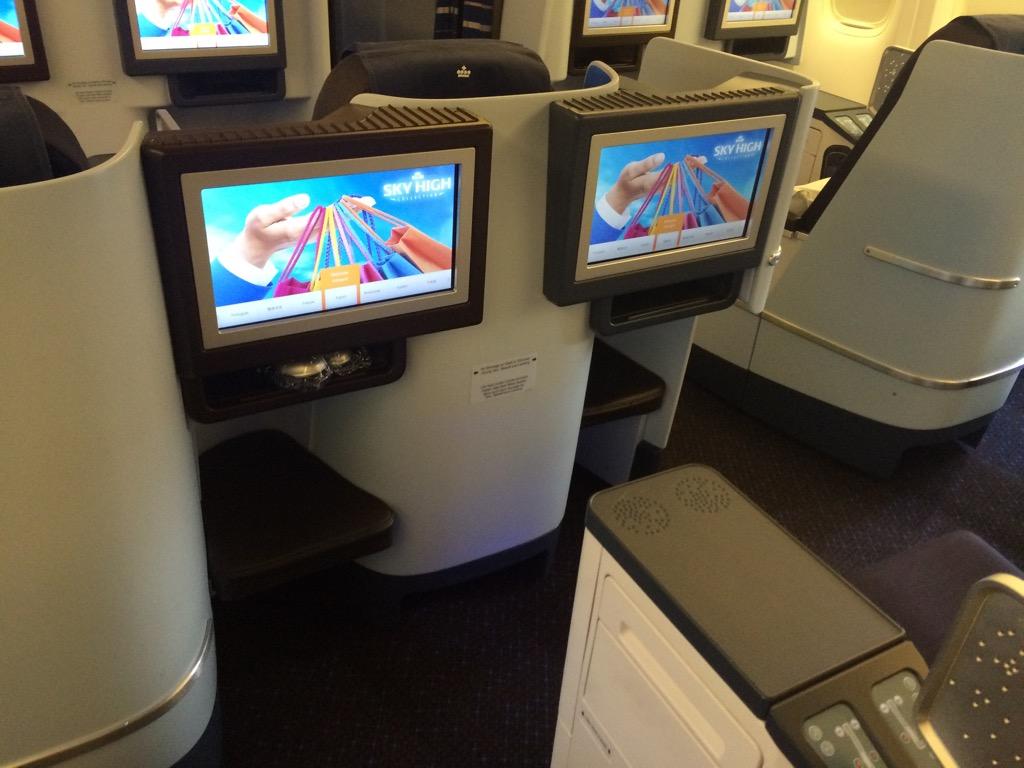 KLM Business Class Boeing 777-300er-10