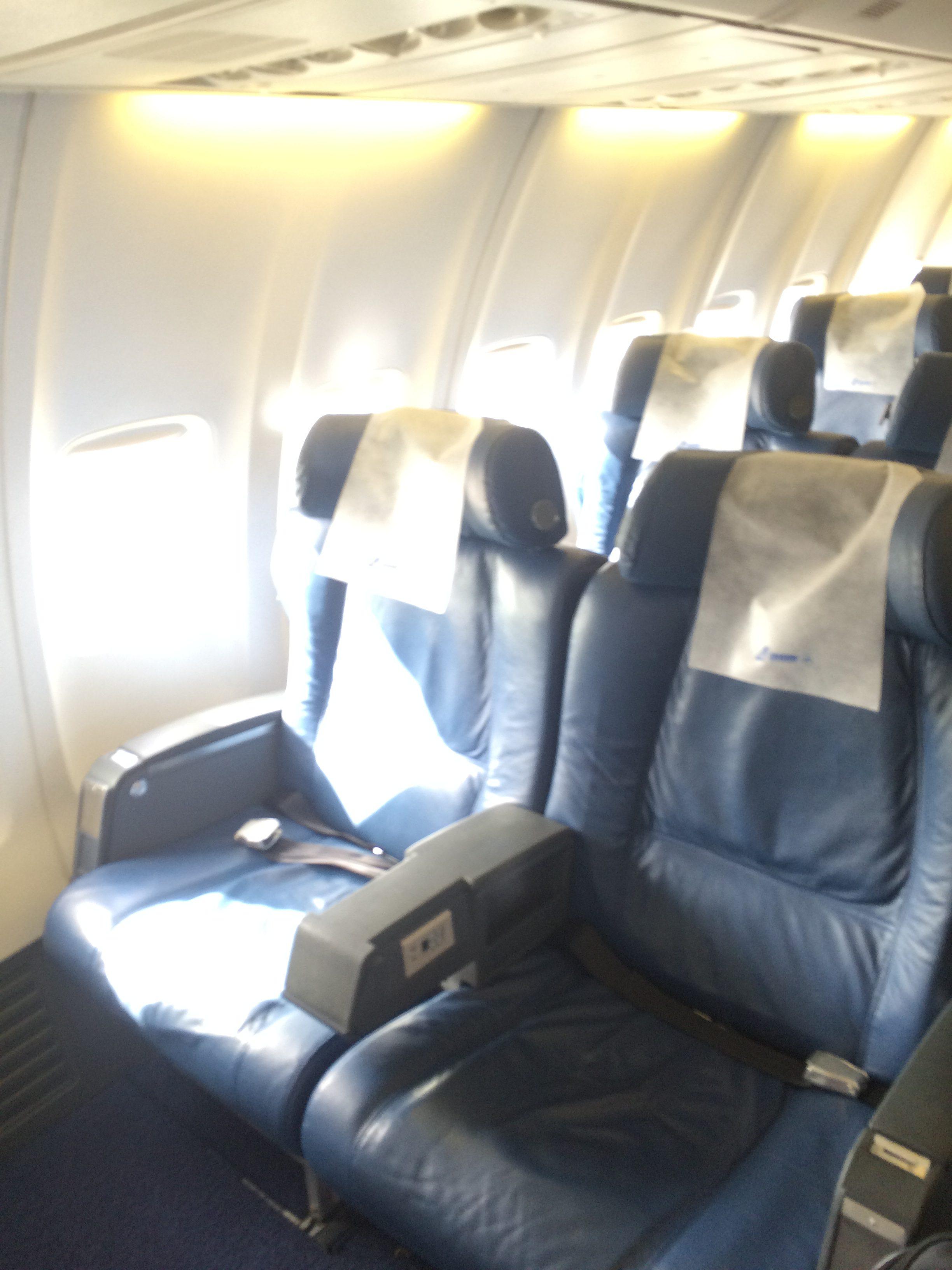Tarom Economy Class Boeing 737