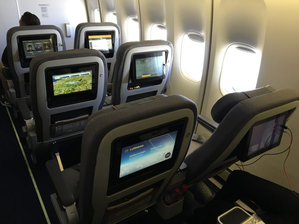 Lufthansa frequent flyers will welcome the new seats, as they felt more  comfortable than the existing ones and are a bit more attractive, too.