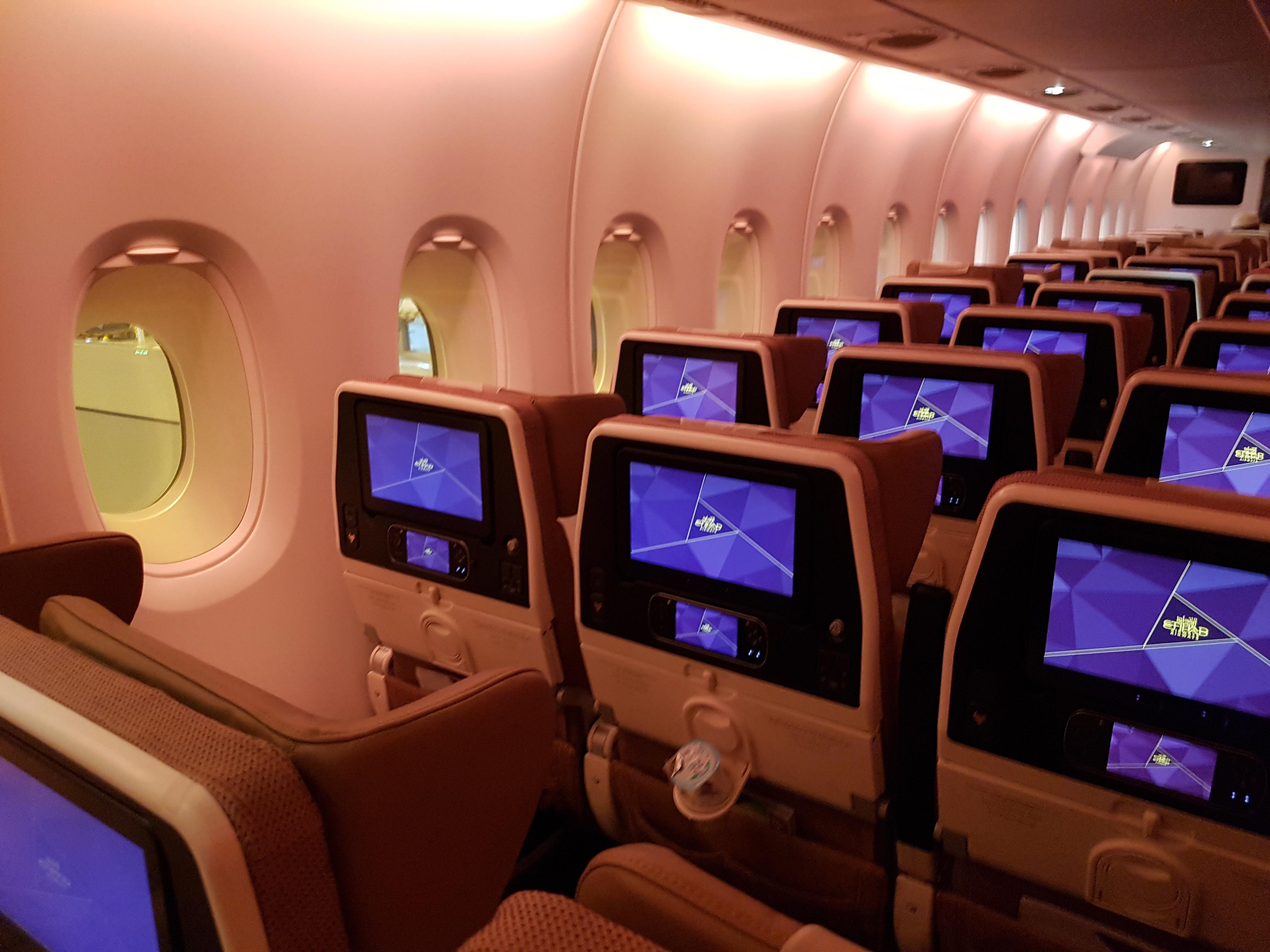 Etihad airlines economy class