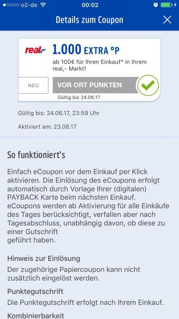 payback coupons aktivieren