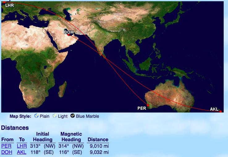 Qantas will von Sydney und Melbourne Non Stop nach London ...