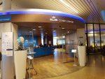 KLM Lounge Eingang