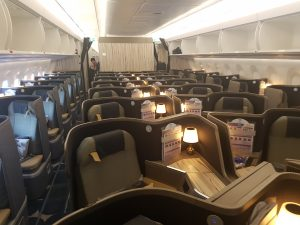 China Airlines Economy Class im Airbus A350 1