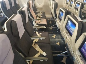 China Airlines Economy Class im Airbus A350 16