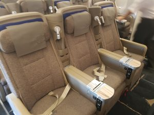 China Airlines Economy Class im Airbus A350 5