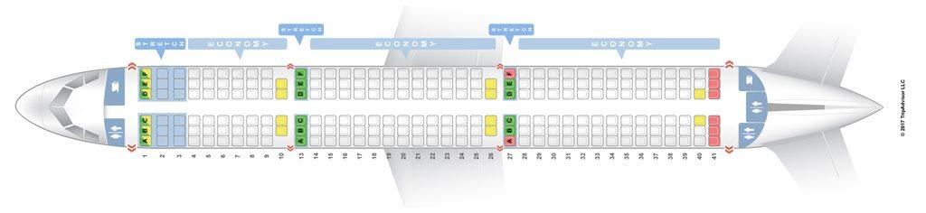 Condor seatguru Seat Map
