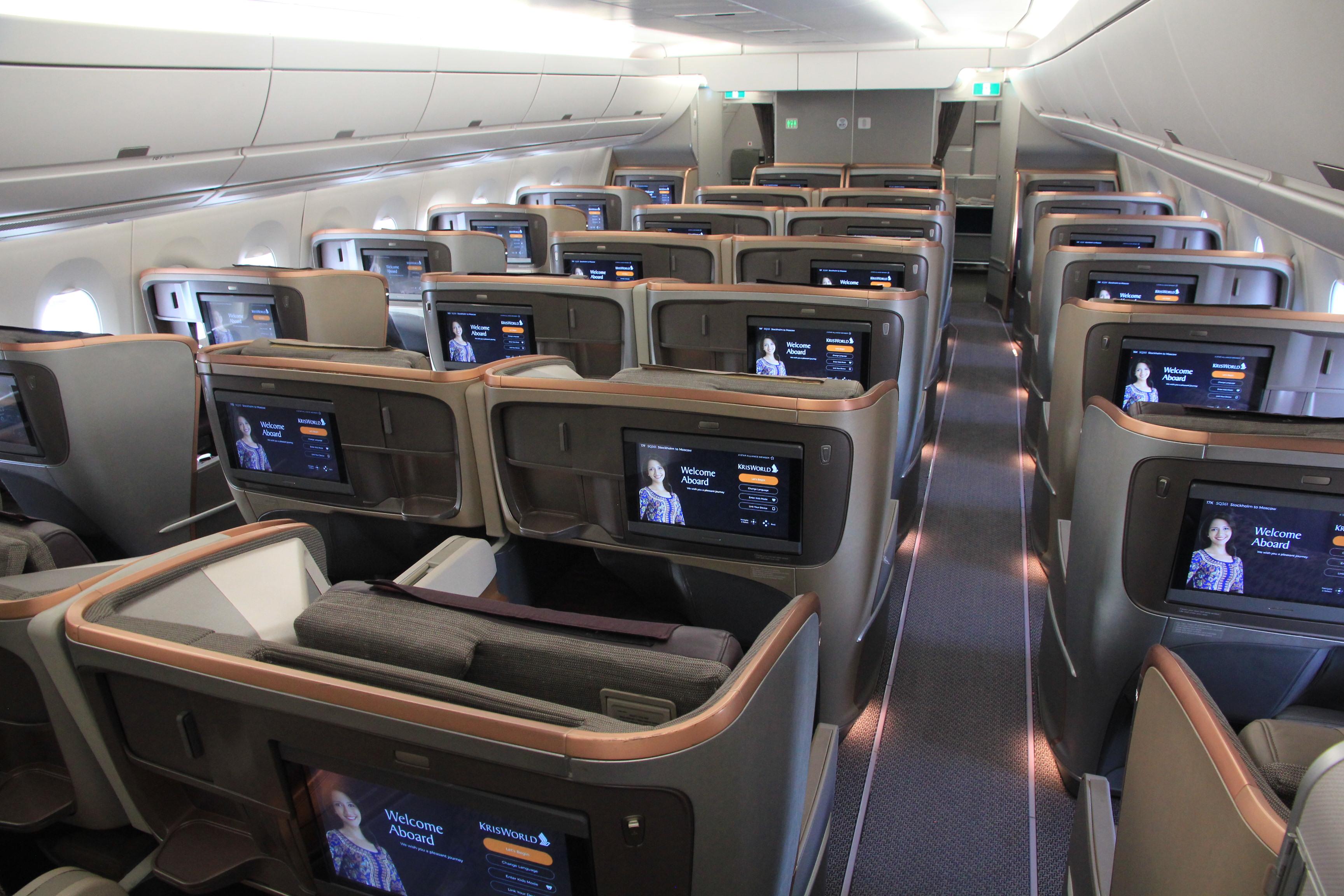 Mehr Details zur neuen Singapore Airlines First Class ...