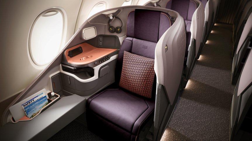das ist die neue singapore airlines suite und business class. Black Bedroom Furniture Sets. Home Design Ideas
