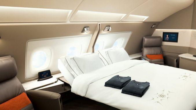 Das ist die neue Singapore Airlines Suite und Business Class ...