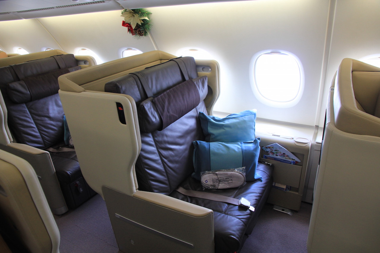 Review Singapore Airlines Business Class Airbus A380 Von