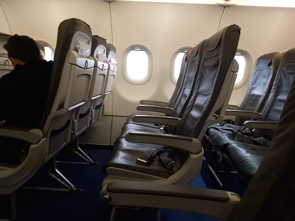 Lufthansa Economy Class im Airbus A321