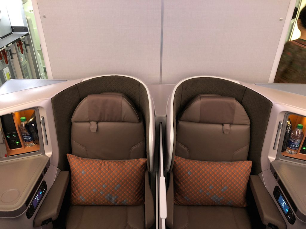 SQ B787-10 Business Sitz