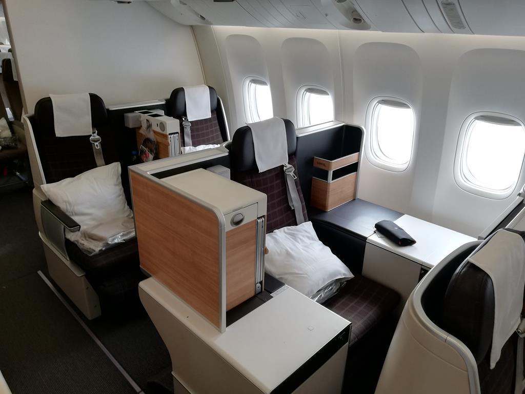 Swiss Business Class 777
