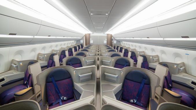 Air China Business Class Airbus A350