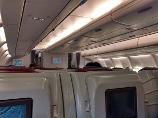 Kabine | China Airlines Business Class Airbus A330