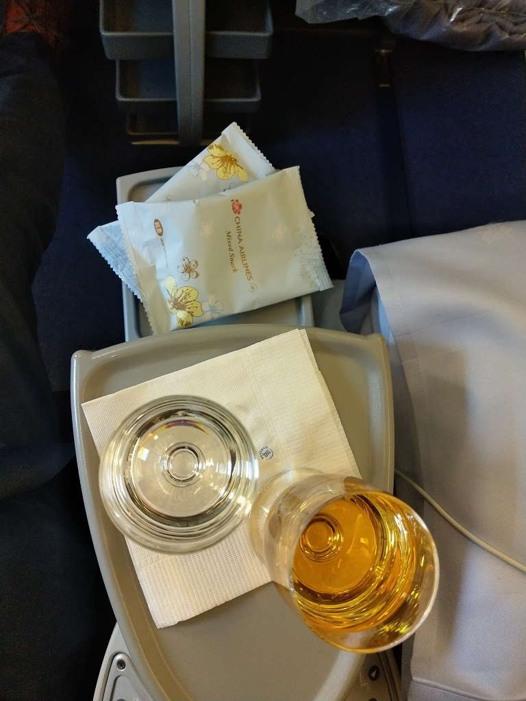 Welcome-Drink | China Airlines Business Class Airbus A330