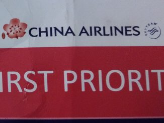 First-Priority Gepäck-Tag | China Airlines Business Class