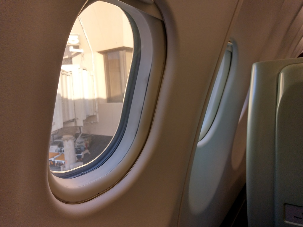 Blick vom Sitz | China Airlines Business Class Airbus A330