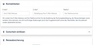 Lufthansa Holidays 30 Euro Rabatt | Buchungsübersicht - Gutschein einlösen; Orientierung