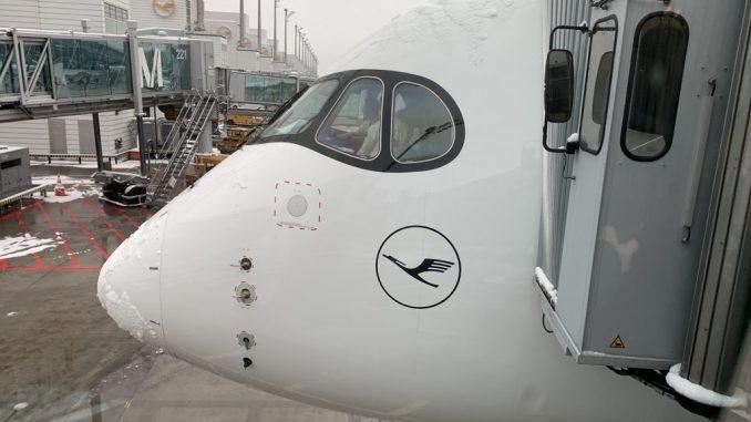 Lufthansa Cockpit außen