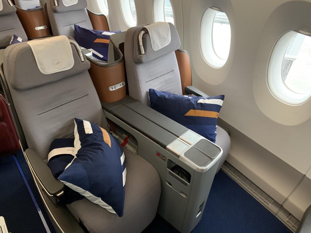 Lufthansa Business Class A350