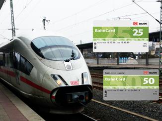 ICE der DB am Bahnhof Siegburg | BahnCards