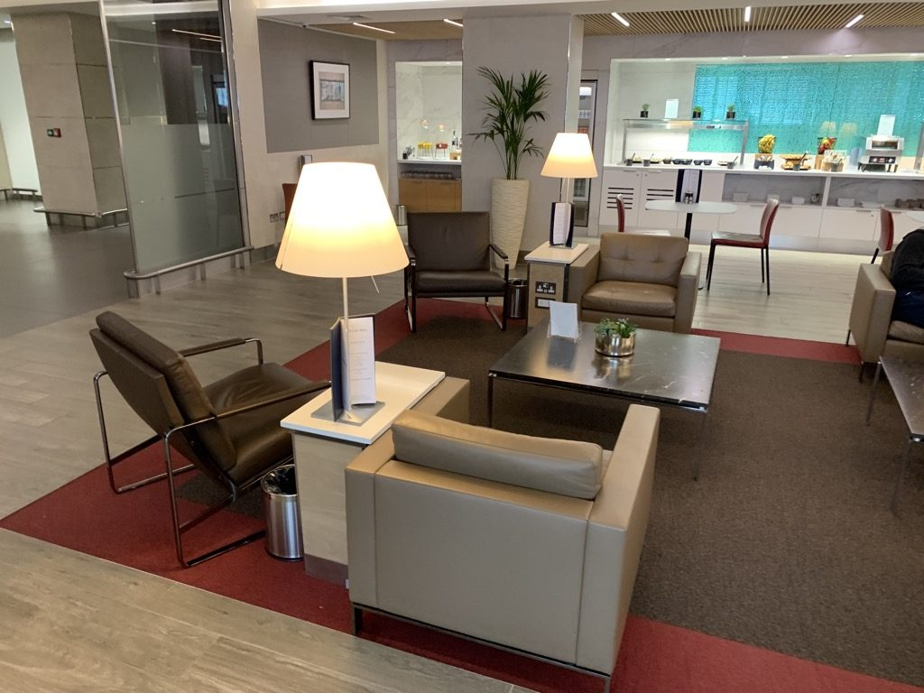 Review American Airlines Arrivals Lounge London Heathrow