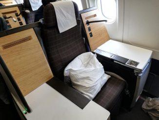 Swiss Business Class A340