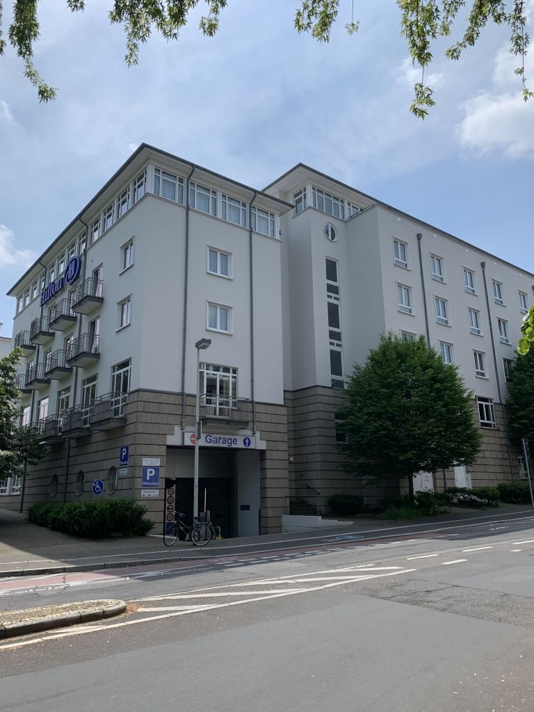 Tiefgarage Hilton Bonn