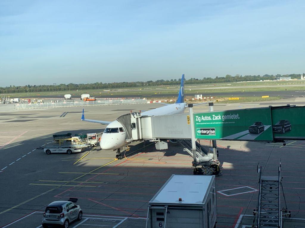 Air Europa Ankunft in Düsseldorf