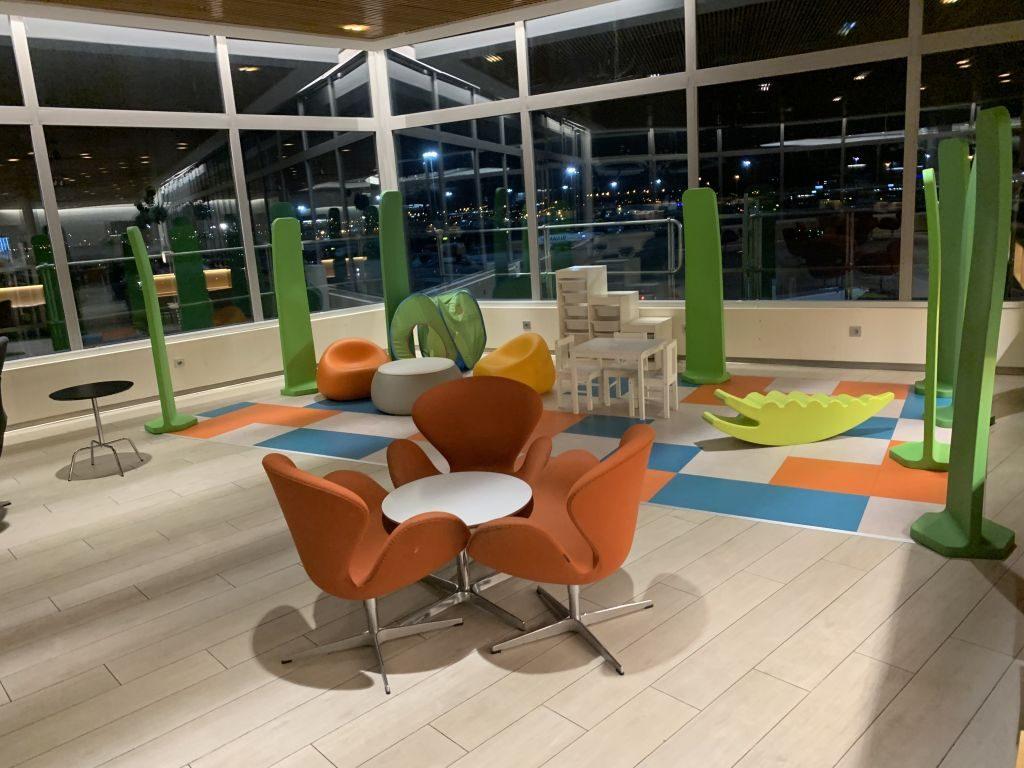 Cibeles Lounge Madrid Kinderecke