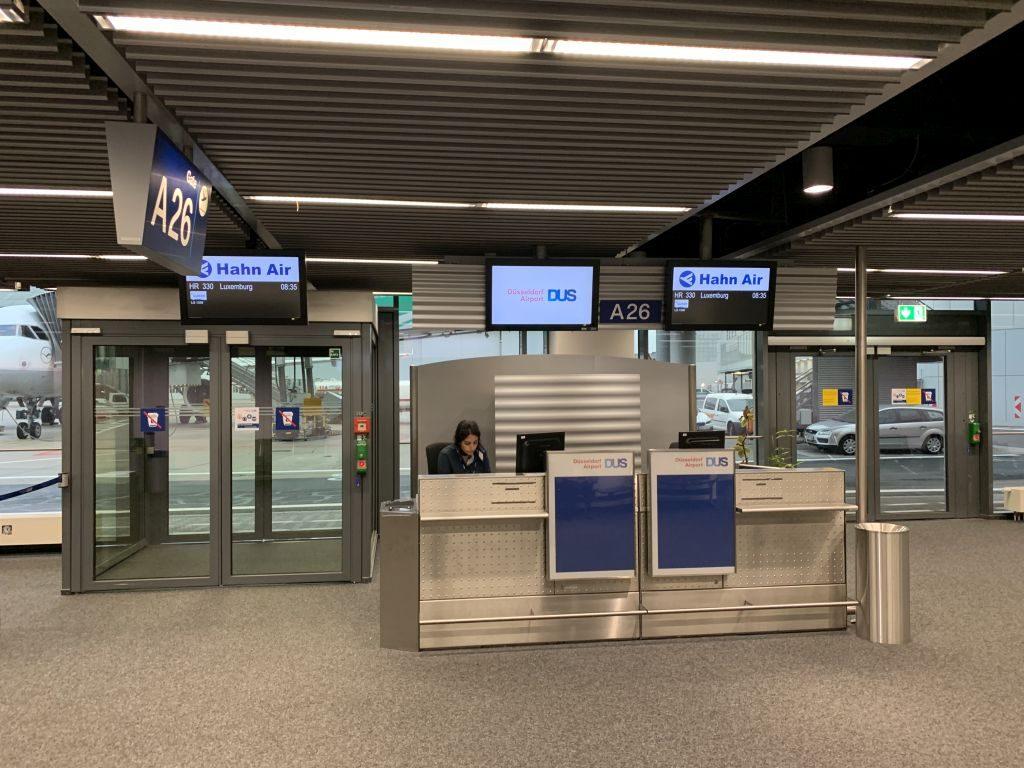 Hahn Air Boarding Gate