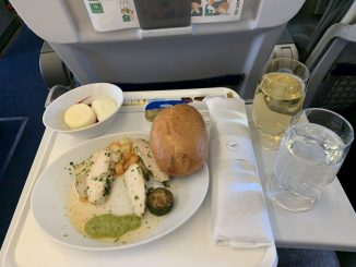 Lufthansa Business Class Catering