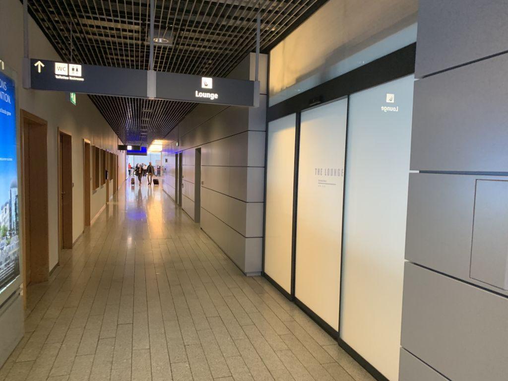 Tür The Lounge Luxemburg