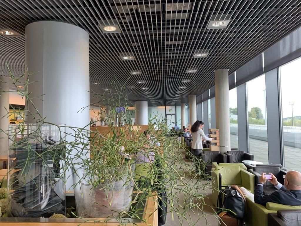 The Lounge am Flughafen Luxemburg
