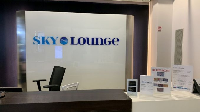 Rezeption Sky Lounge