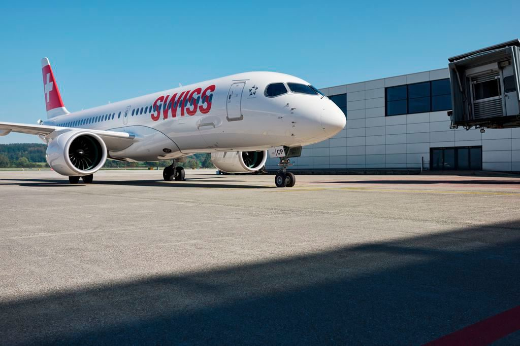 Swiss Airbus A220-300
