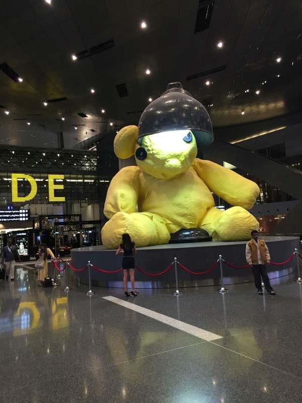 Teddy Flughafen Doha