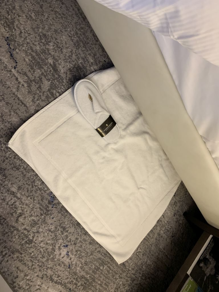 Intercontinental Düsseldorf Turndown Service