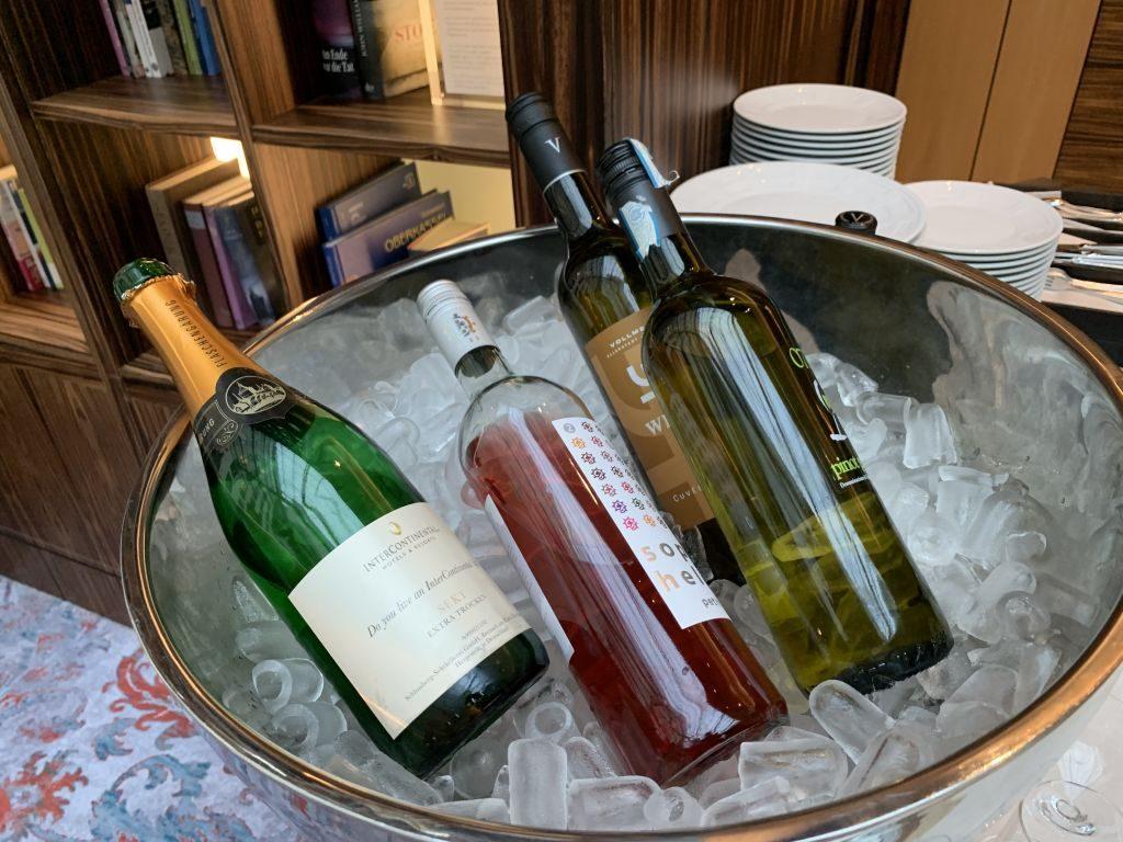 Intercontinental Düsseldorf Sekt und Wein