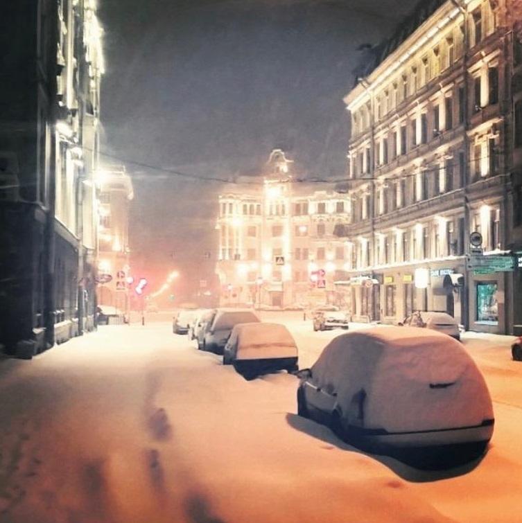 Sankt Petersburg Winter