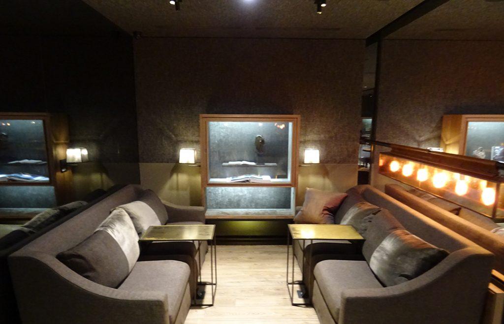 TPE VIP Lounge, Seite A - Sitzgelegenheit