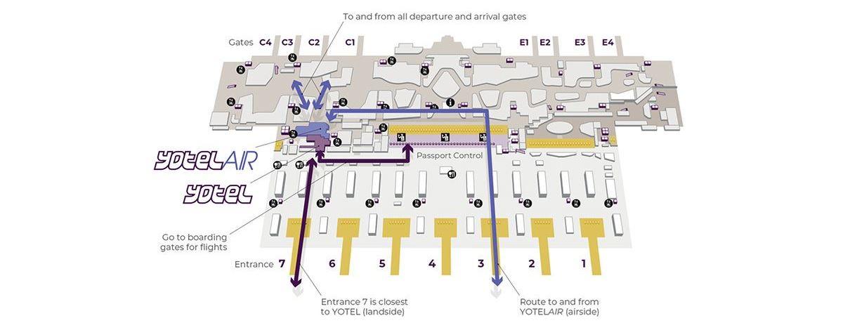 (c) YOTEL Airport-Hotel am neuen Flughafen in Istanbul